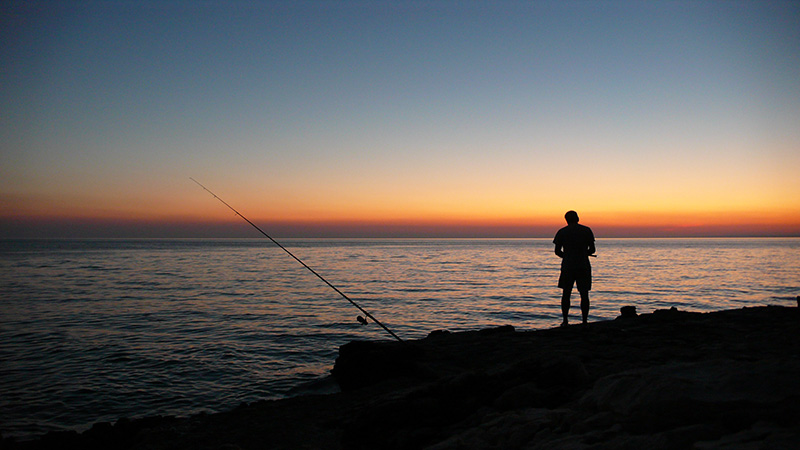 Lake Fishing and Sea Fishing in Northumberland