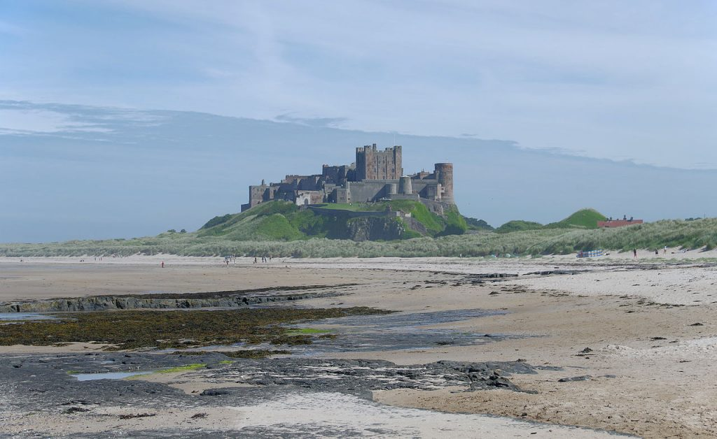 Bamburgh Castle walk