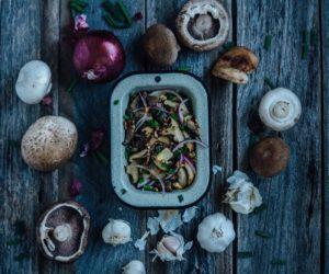 Mushrooms Luxury Recipe Cottage
